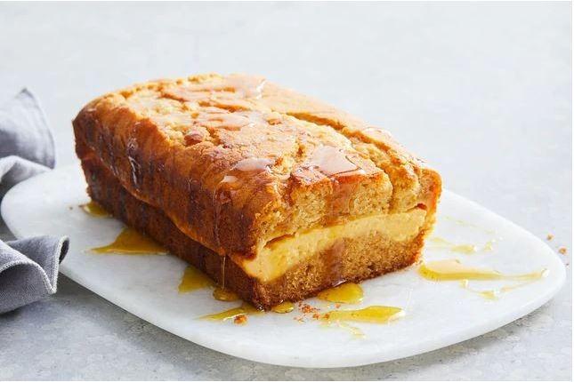 Σιροπιαστό Κέικ με κρέμα