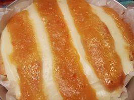 Κέικ με κρέμα και μαρμελάδα