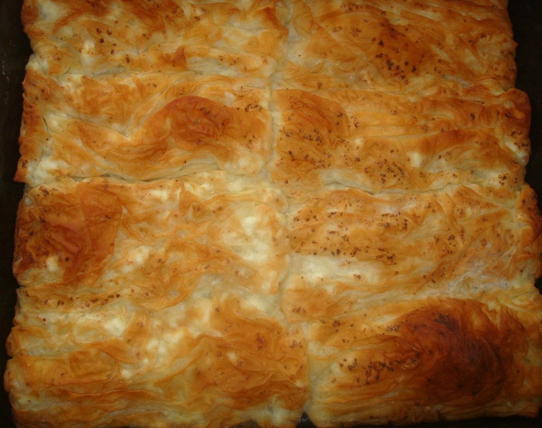 Πατσαβουρόπιτα μπαμπουσκα