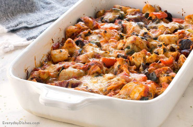 Κοτοπουλο με ψητά λαχανικά