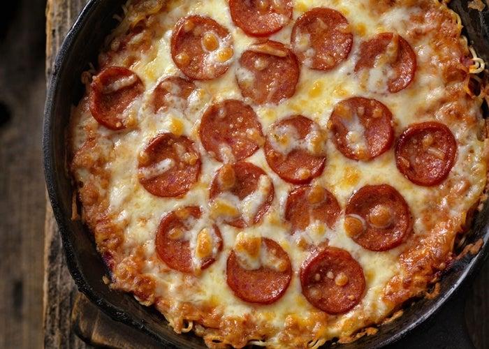 Πίτσα Σπαγγέτι