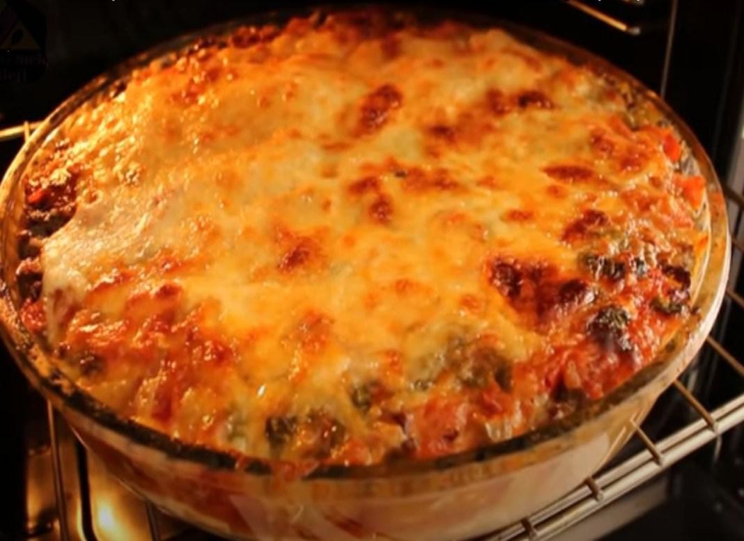 Πατάτες με κιμά στο φούρνο