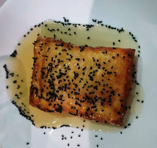 Φέτα ψητή με μέλι
