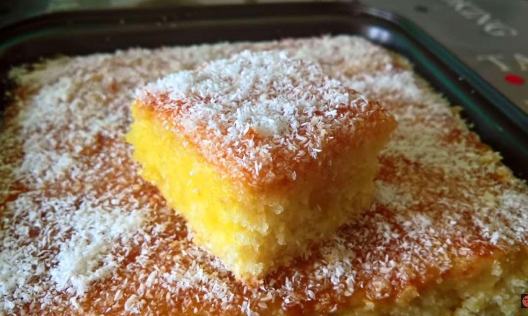 Κέικι Πορτοκάλι με καρύδα