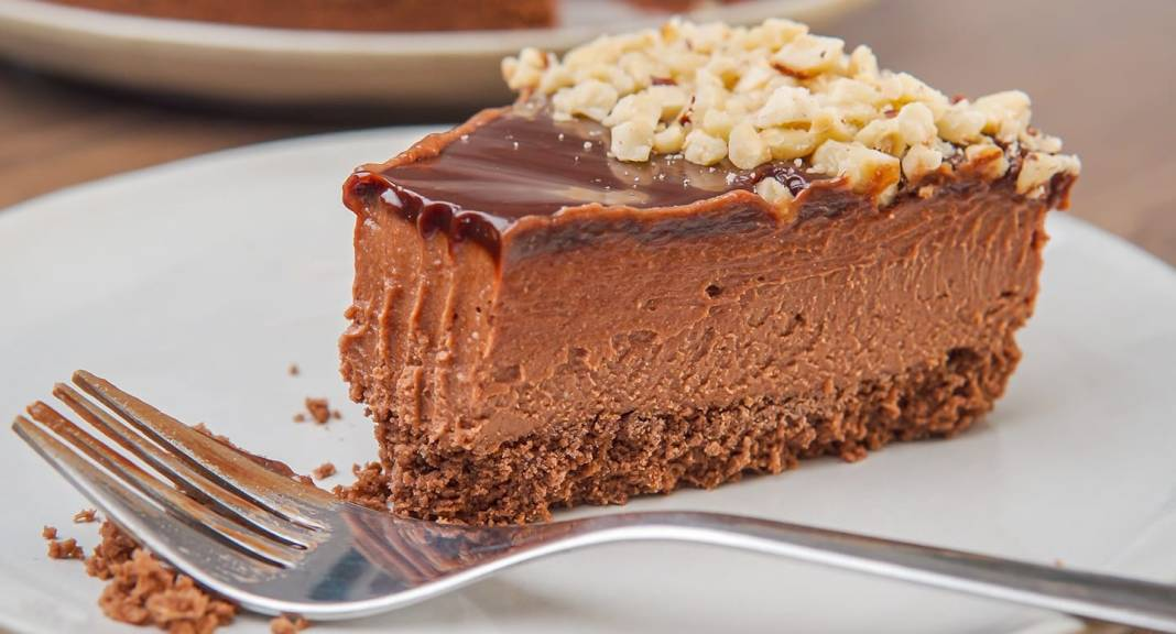 cheesecake σοκολάτας φουντουκιού