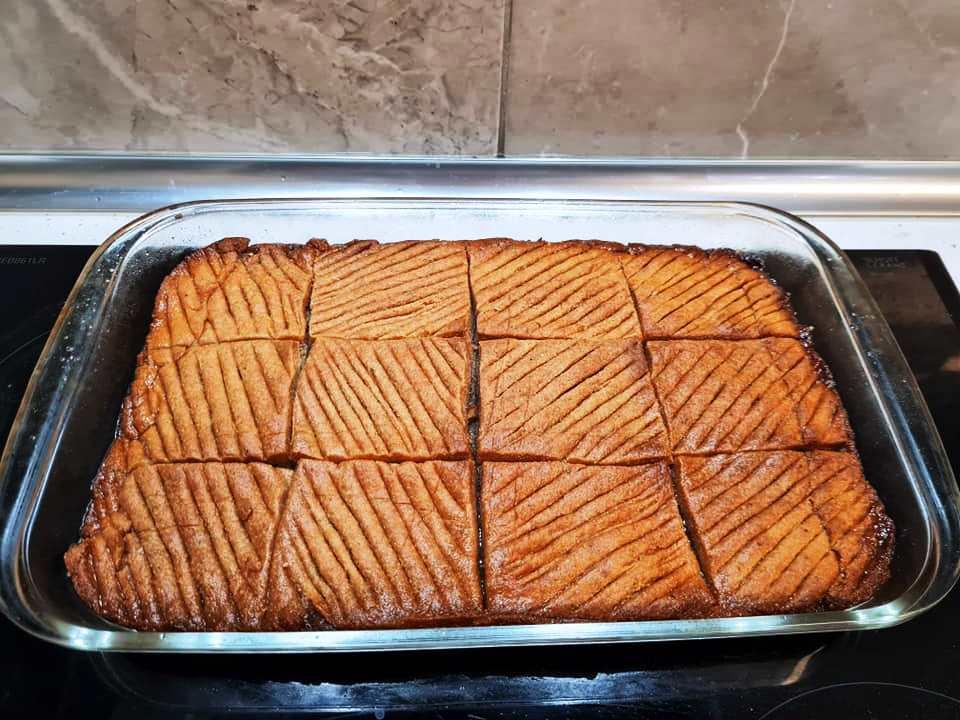 νόστιμο γλυκό από τουρκική κουζίνα