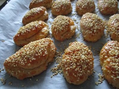 Κασεροπιτάκια με ηλιέλαιο