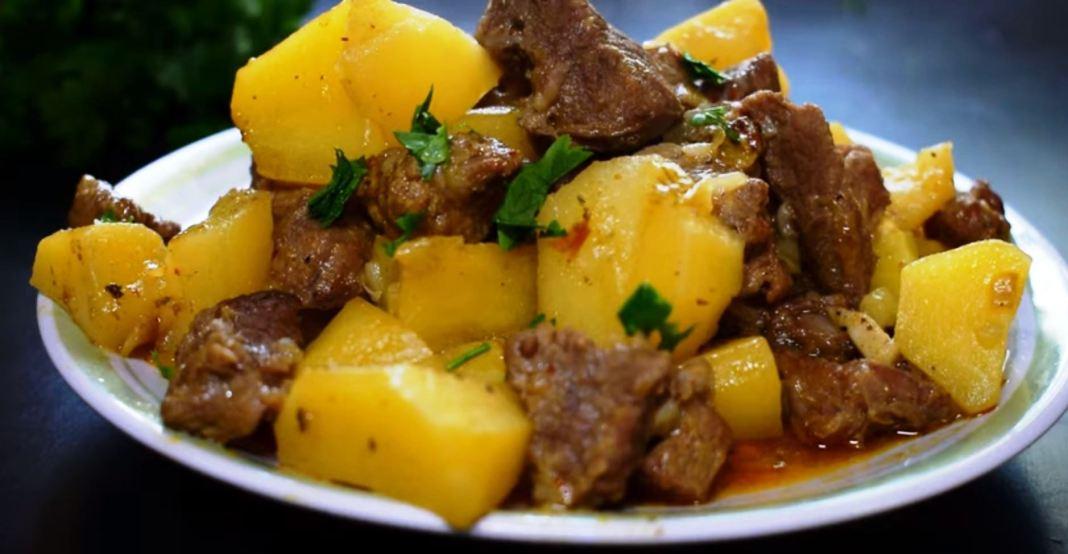 Κρέας με πατάτες