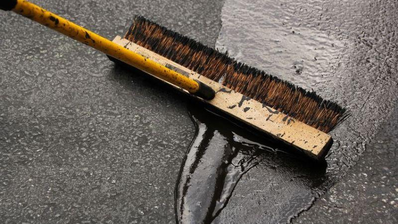 paving or sealing