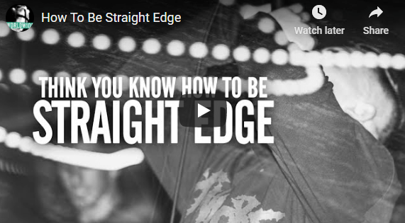 How To Be Straight Edge