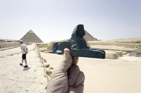Souvenir Landmarks - Egypt Sphynx