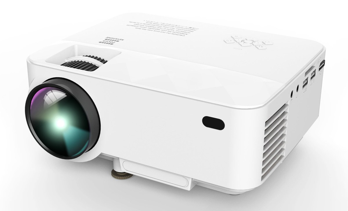dbpower t20 portable mini led projector xsreviews. Black Bedroom Furniture Sets. Home Design Ideas