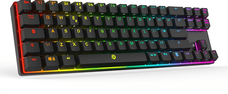 4c79a1c2fee Drevo Calibur 72 RGB Bluetooth mechanical keyboard review - Review ...