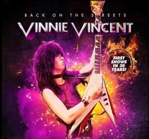 Vinnie Vincent Announces New Band Lineup For Live Shows