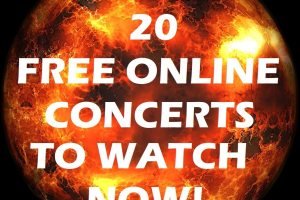 20 Full Length Concerts To Watch While Quarantined