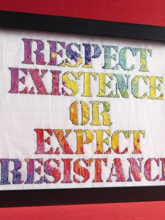 8 Bit Stitch's Respect Existence design for Issue 1