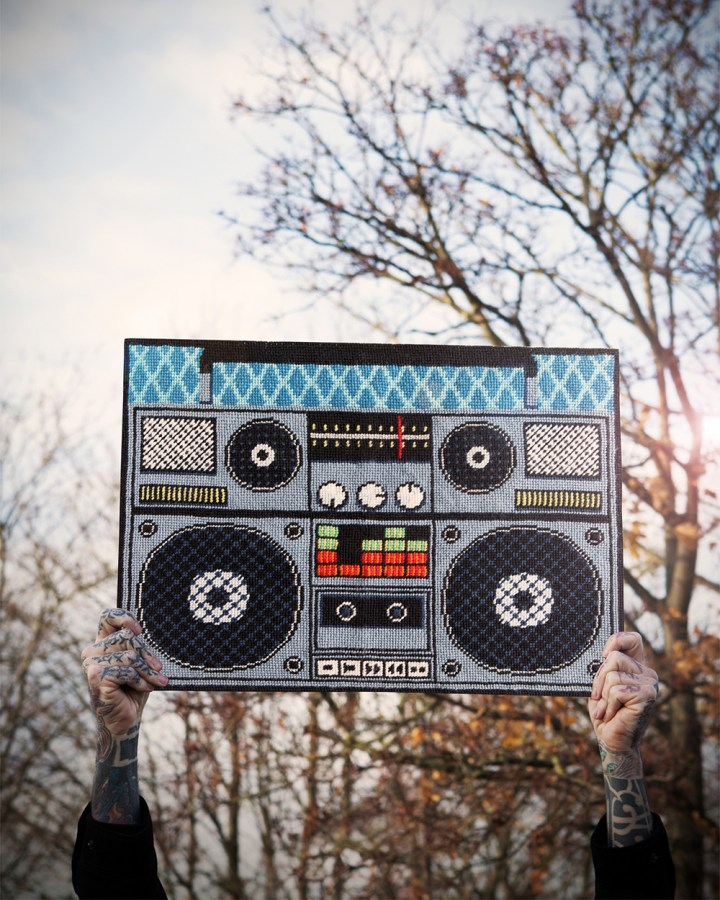 Jenny Henry's Boombox design from Issue 2