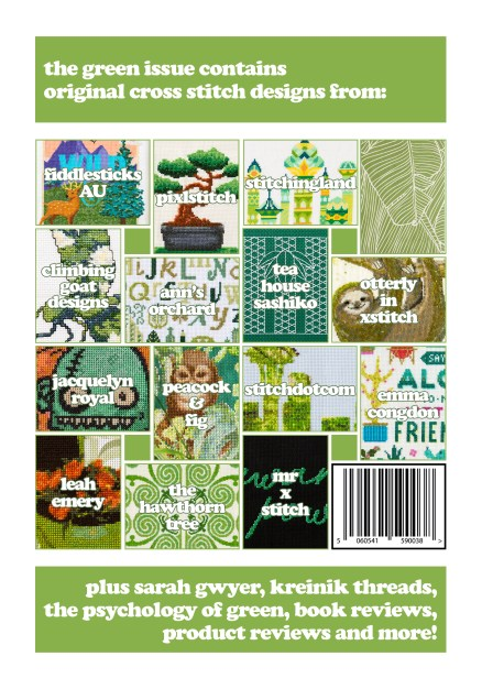 XStitch Magazine Issue 4 - Green