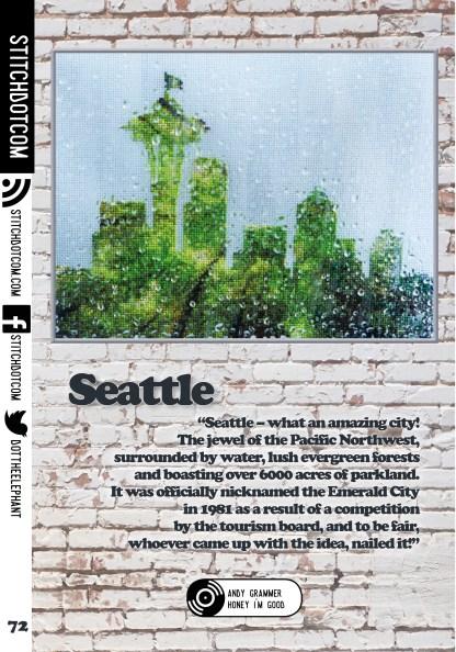 StitchDotCom's cross stitch design for Issue 4 of XStitch Magazine