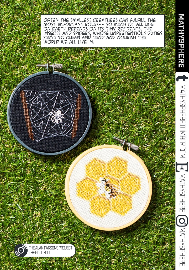 Mathysphere's Tiny Heroes Cross Stitch Pattern