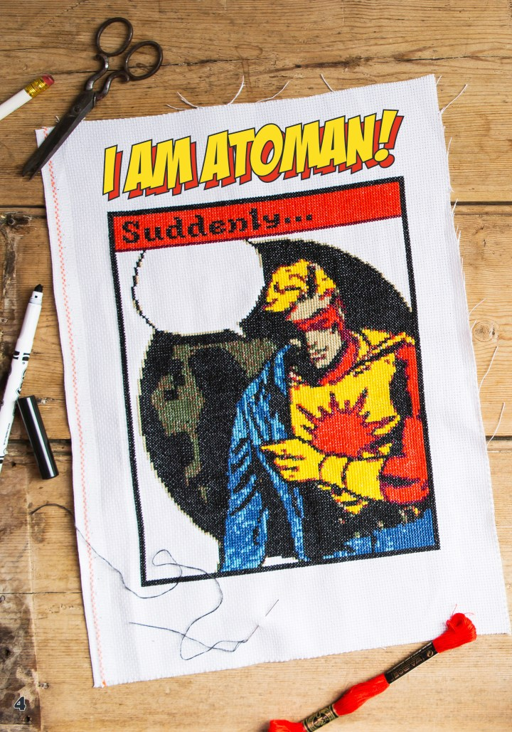 Keith Clark's Atoman Cross Stitch Pattern