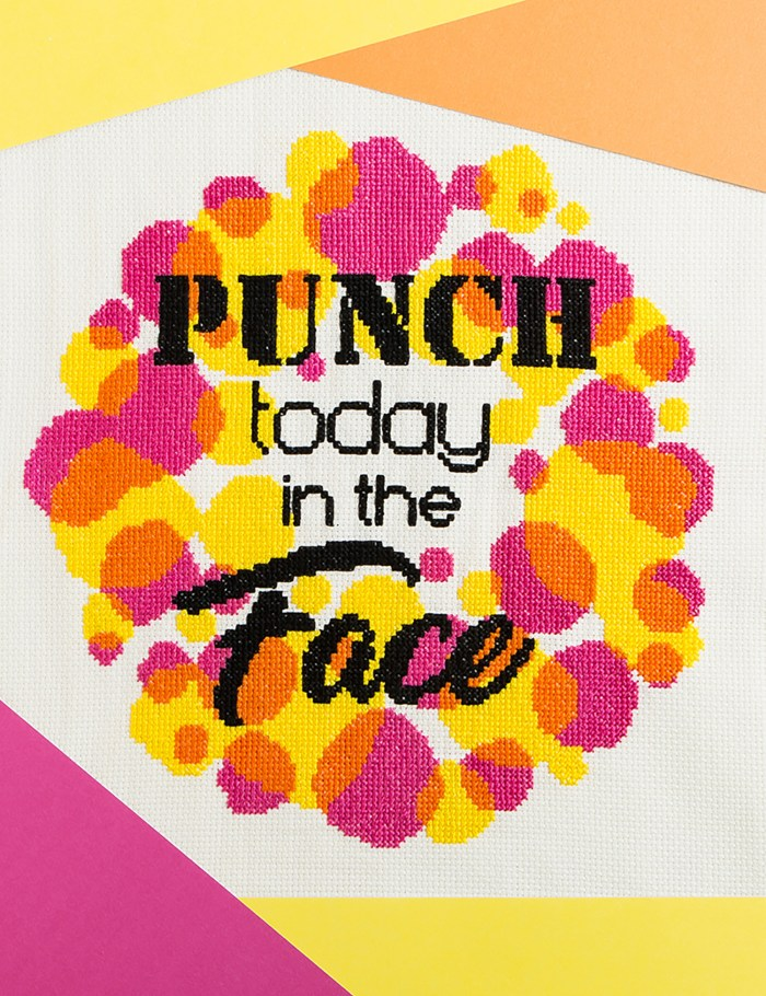 Stitchsperation - Punch Today In The Face
