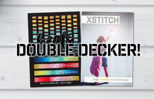 XStitch Magazine Double Decker Combo Package