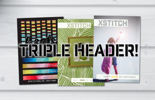 XStitch Magazine Triple Header Combo Package