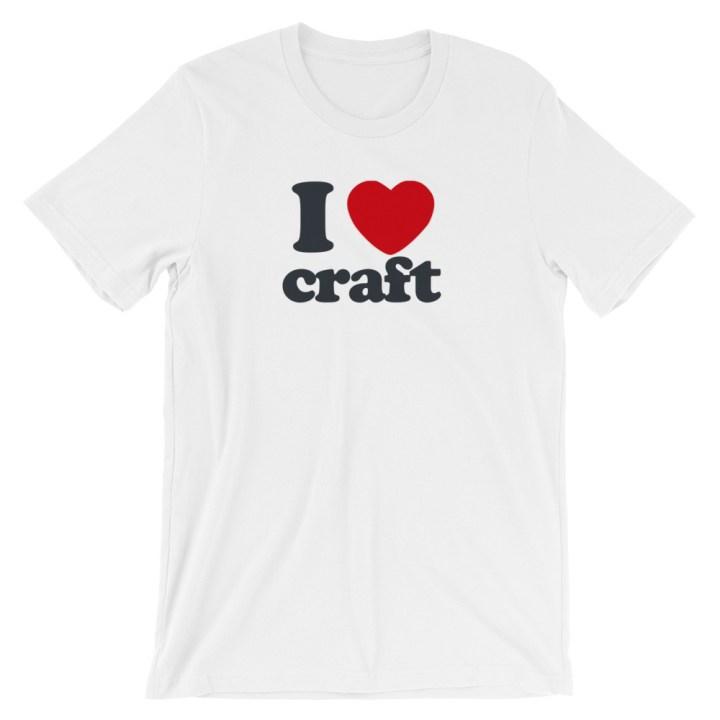 I Heart Craft T-Shirt