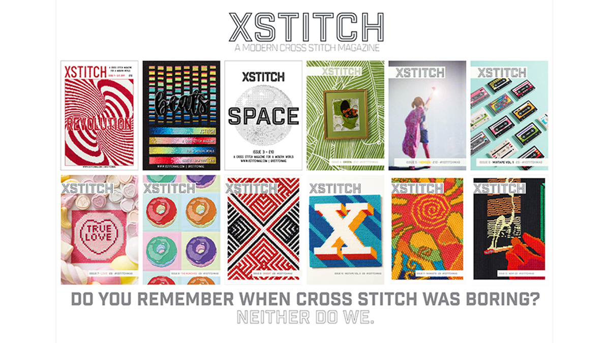 Modern Cross Stitch | XStitch Magazine