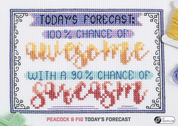 Peacock & Fig - Today's Forecast