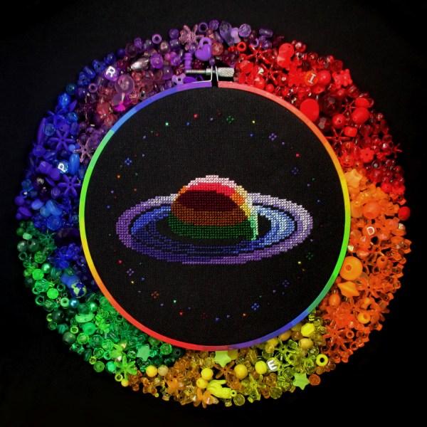 Mathysphere - Rainbow Saturn