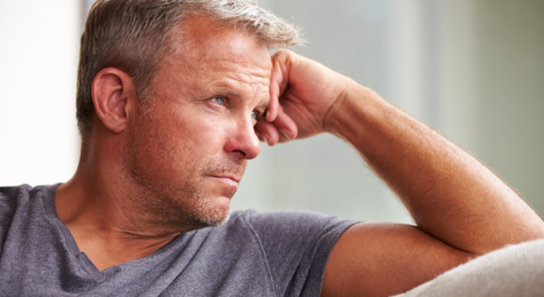Men More Likely To Develop Depression After Prolonged Periods Of Stress