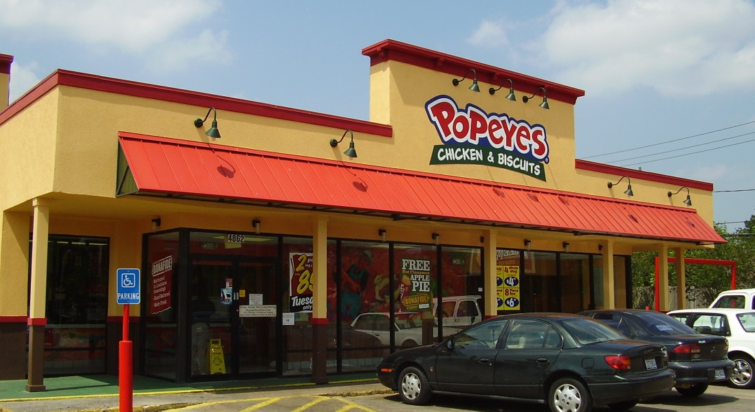 Popeyes to Join Burger King and Tim Hortons as Recent Acquisition of Restaurant Brands