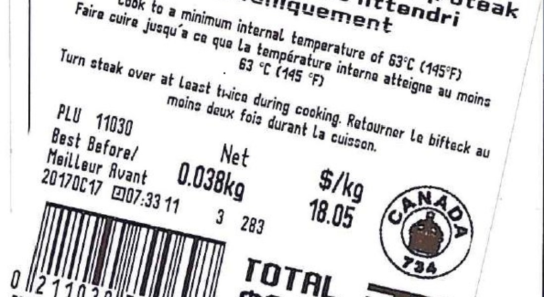 CFIA Recalling Mechanically Tenderized Steaks in Canada for E. coli