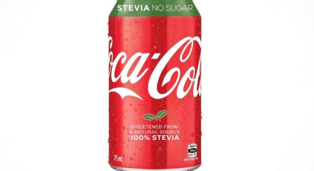 Coca-Cola to Release Zero Calorie Stevia-Sweetened Soda in 2018