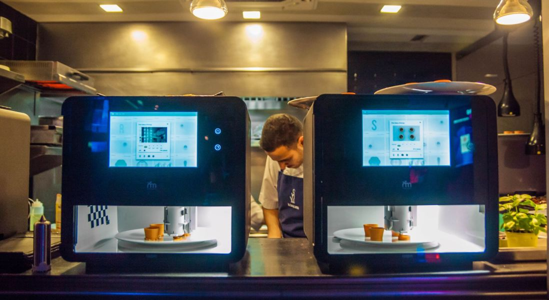 "How 3D Food Printing Technology Is ""Shaping"" the Food Industry"
