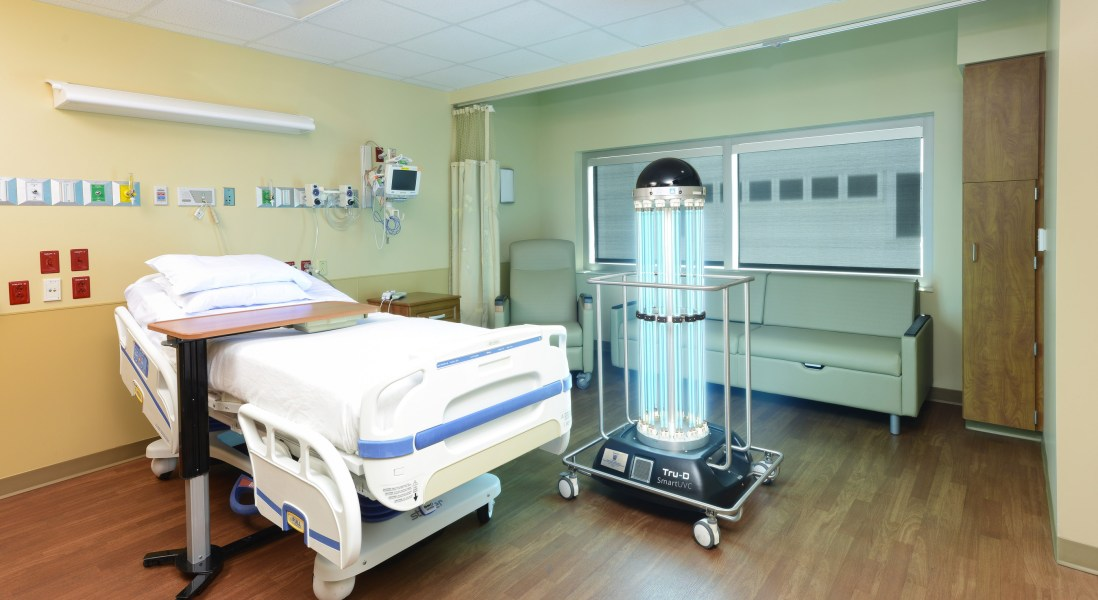 Tru-D SmartUVC Uses Disinfection Robots to Reduce Hospital-Acquired Infections