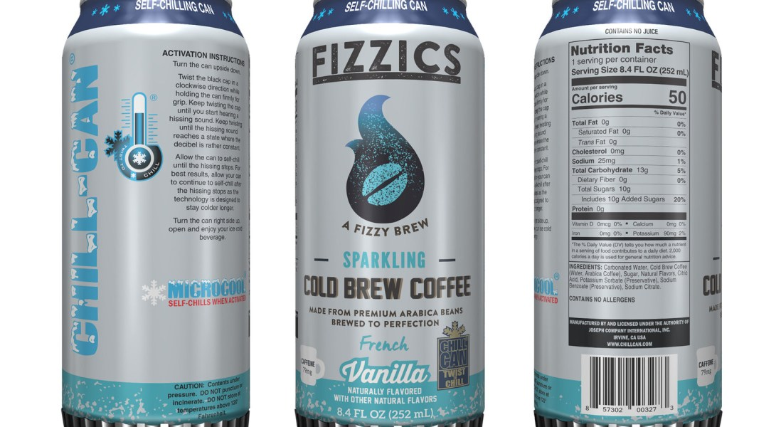 7 Eleven Launches First Ever Self-Chilling Cold Brew Coffee Product