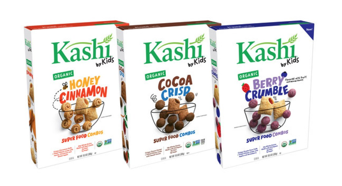 Kashi Partners with Kids to Launch First Children's Product Line