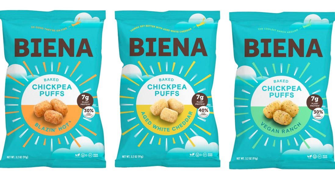 Chickpea Puffs Replace Cheese Puffs in an Era of Healthy Consumers