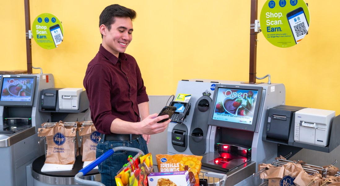 Kroger Expands Payment Options with Pay-By-Phone Platform
