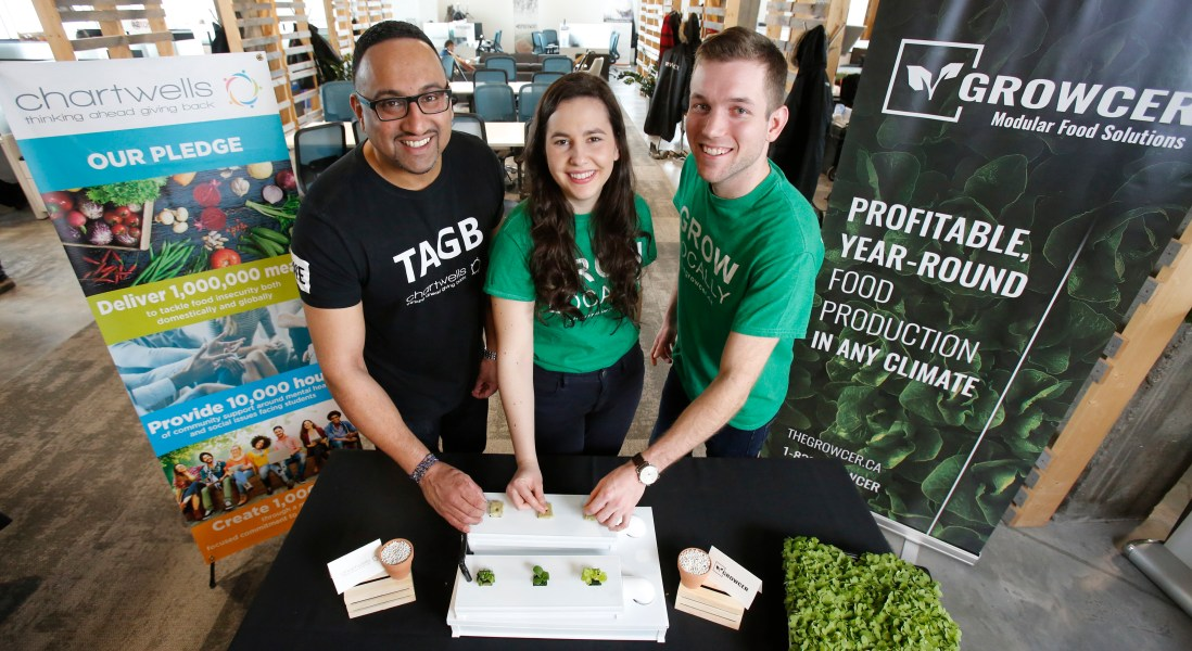 The Growcer's Vertical Farms to Take Root in Campuses Across Canada