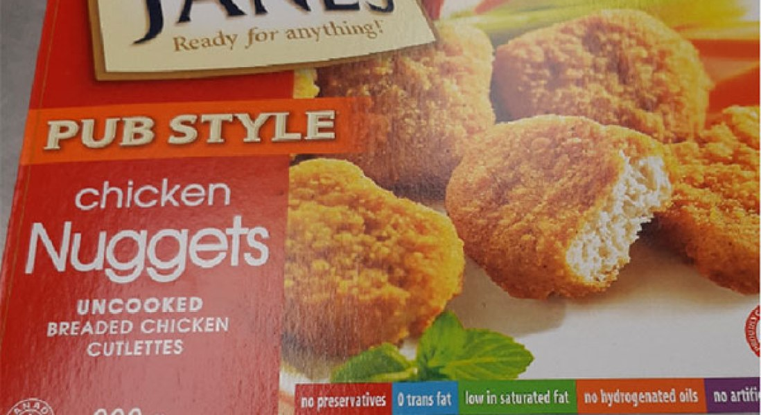 Janes Chicken Nuggets Recalled Over Salmonella Risk