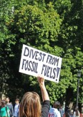 Divest from fossil fuels!