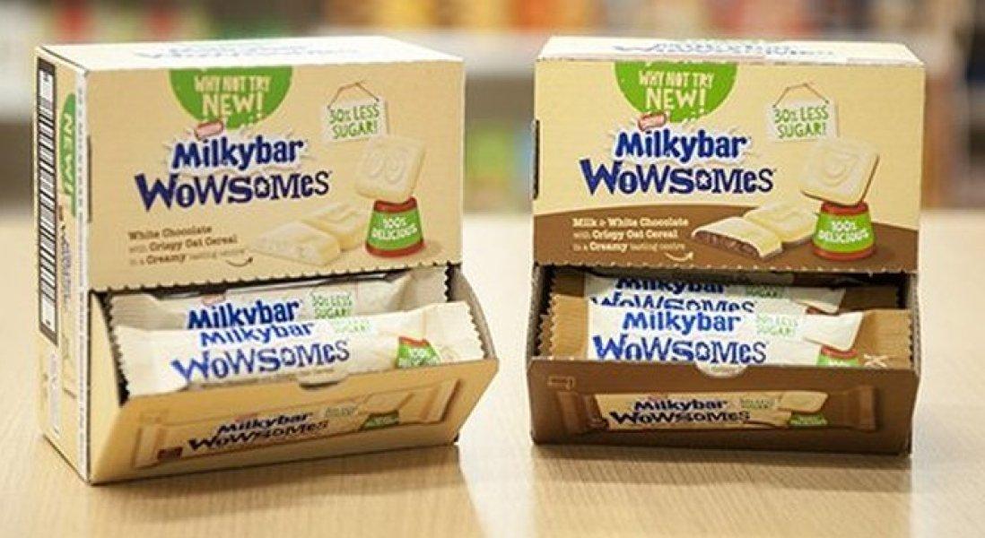 Nestlé Discontiues Milkybar Wowsomes