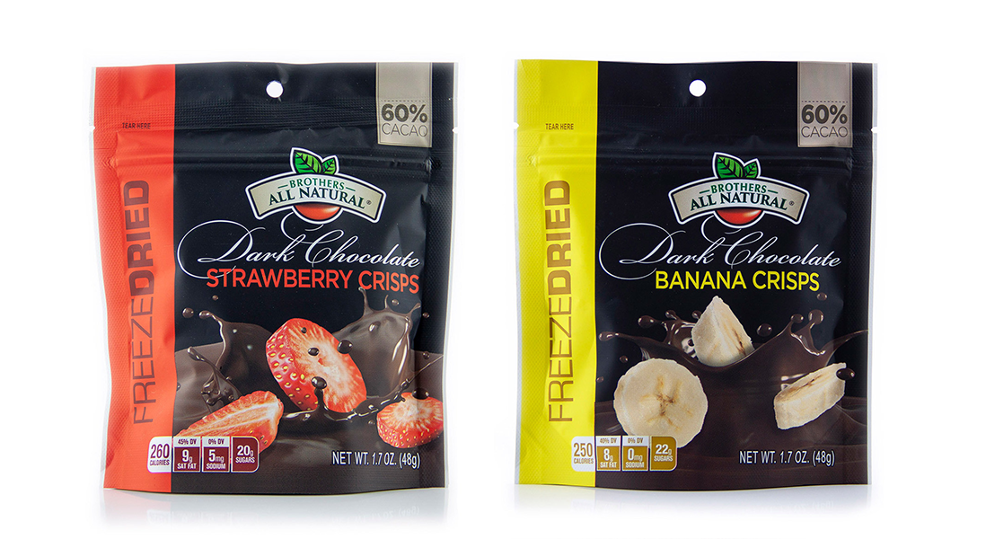 Brothers All Natural Debuts Freeze-Dried Chocolate-Covered Fruit