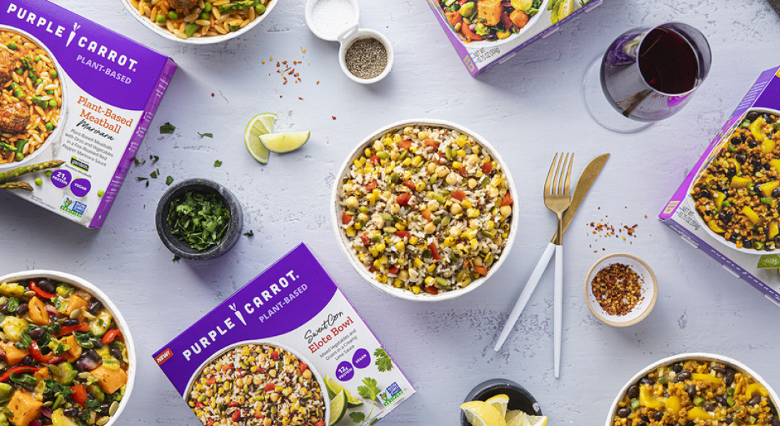 Purple Carrot to Introduce Their Plant-Based Meals to Frozen Food Aisles