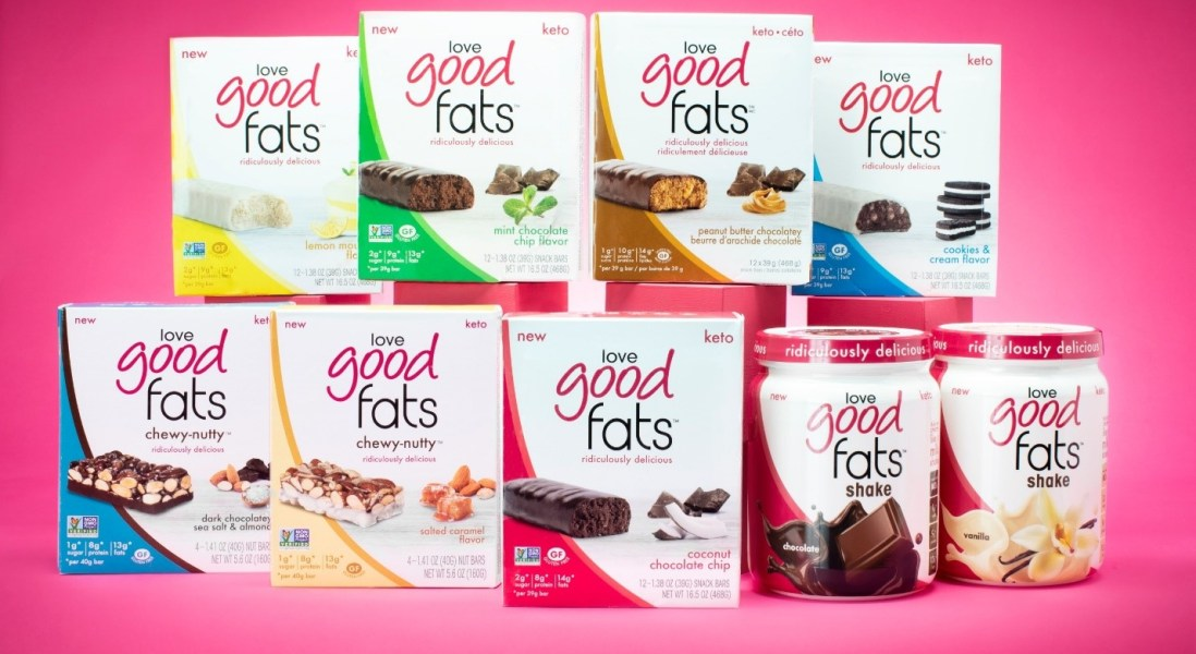 Love Good Fats Raises $10.7 Million in Equity, Banking on Sustained Popularity of Keto Diet
