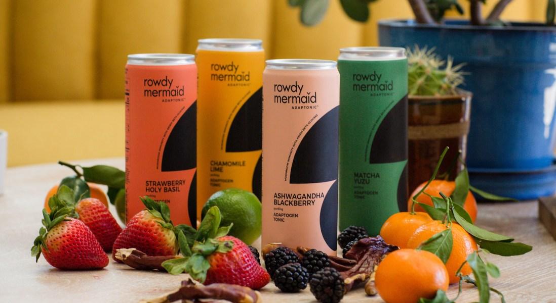 Rowdy Mermaid Introduces Mushroom-Based Sparkling Beverage